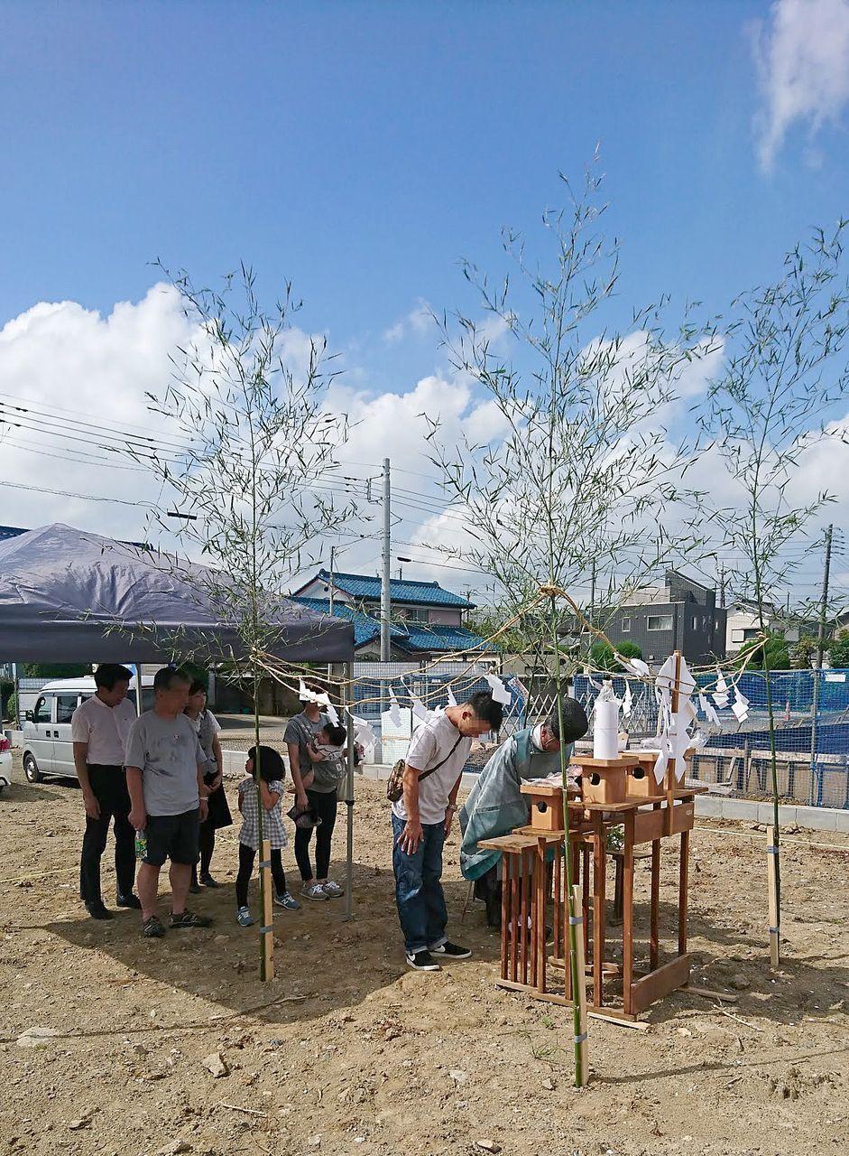 熊谷市 M様邸地鎮祭