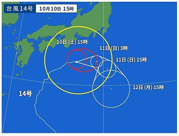 台風シーズンです(-_-;)