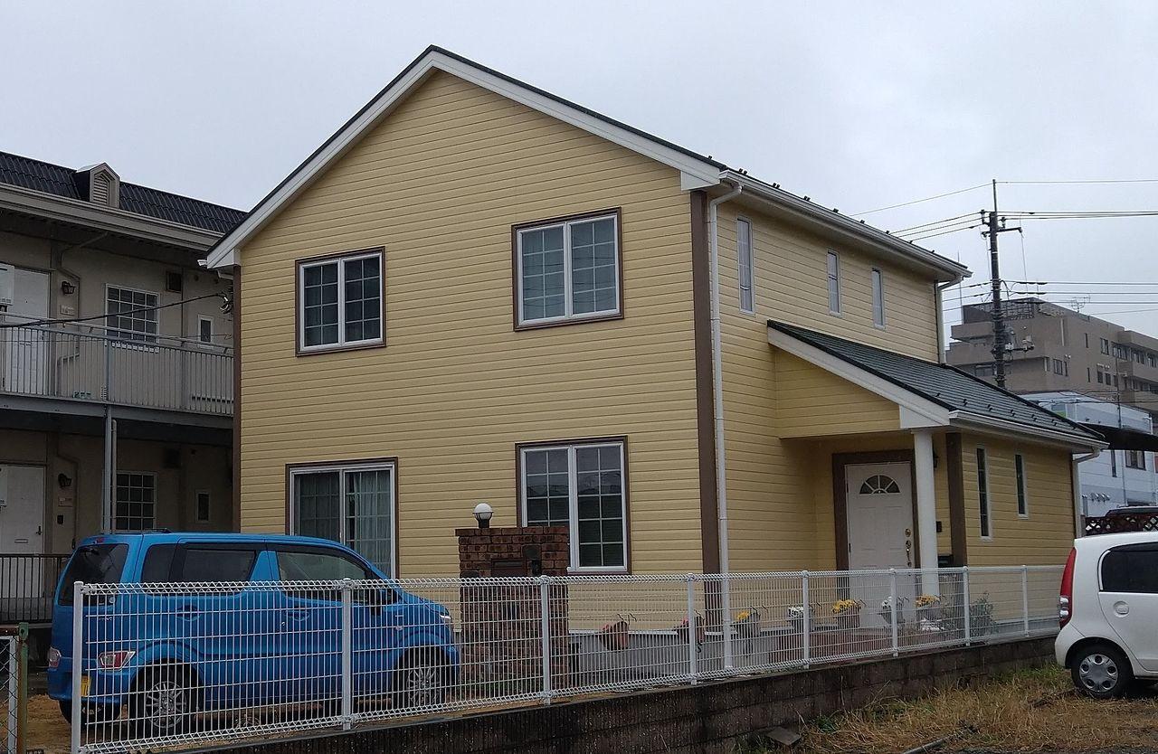 外壁と屋根とコーキングの・・完成