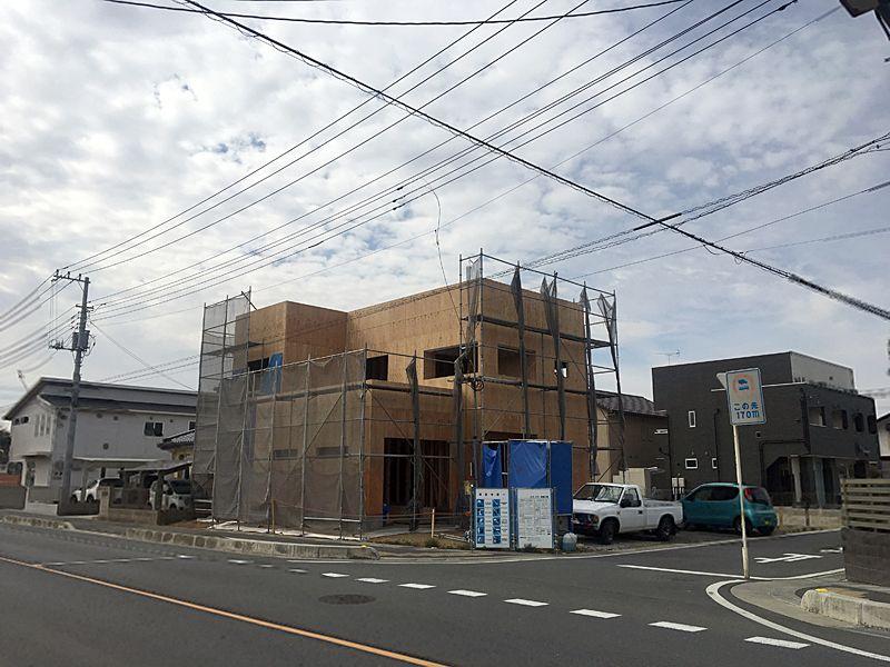 高坂Y様邸、造作工事中